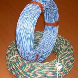 Kruisverbindingsdraad Blauw/Wit/Oranje/Groen, 200m